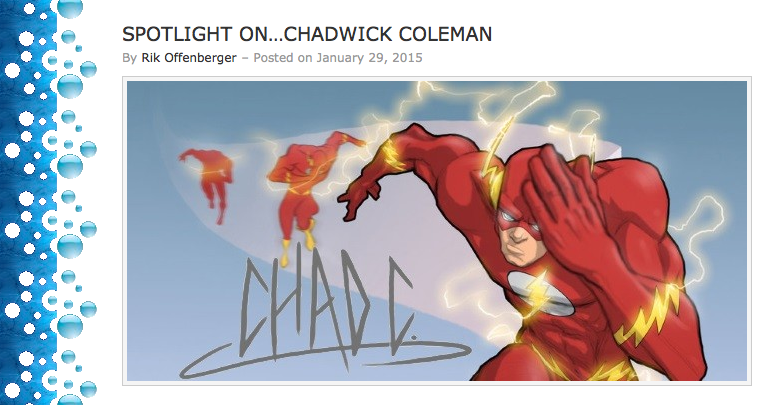 First Comics News Chadwick Coleman  2015-01-29 at  by Chadwick-J-Coleman