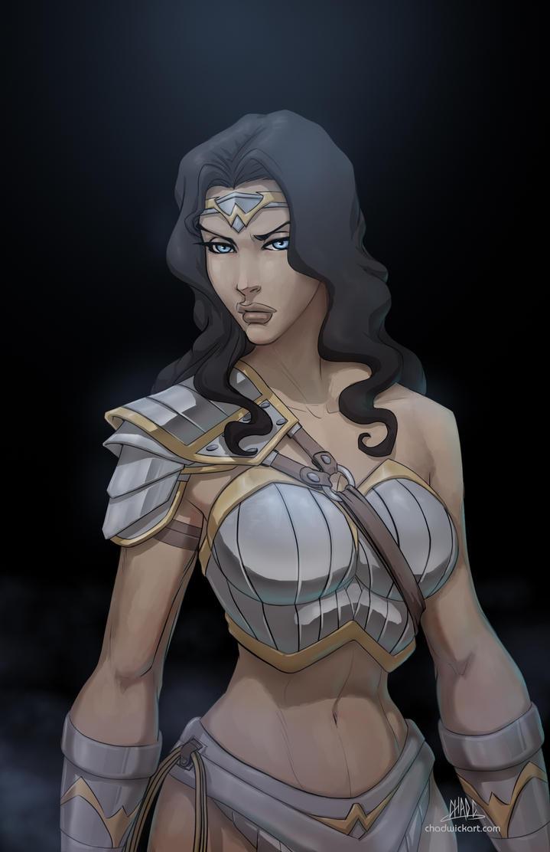 Wonder Woman-100,000-Chad C. by Chadwick-J-Coleman