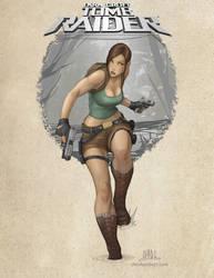 Lara Croft - Tomb Raider by Chadwick-J-Coleman