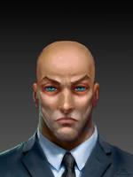 Professor Charles Xavier - v01 by Chadwick-J-Coleman