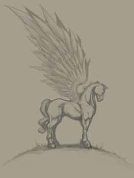 Pegasus Paint WIP 01