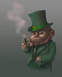 Leprechaun WIP03 by Chadwick-J-Coleman