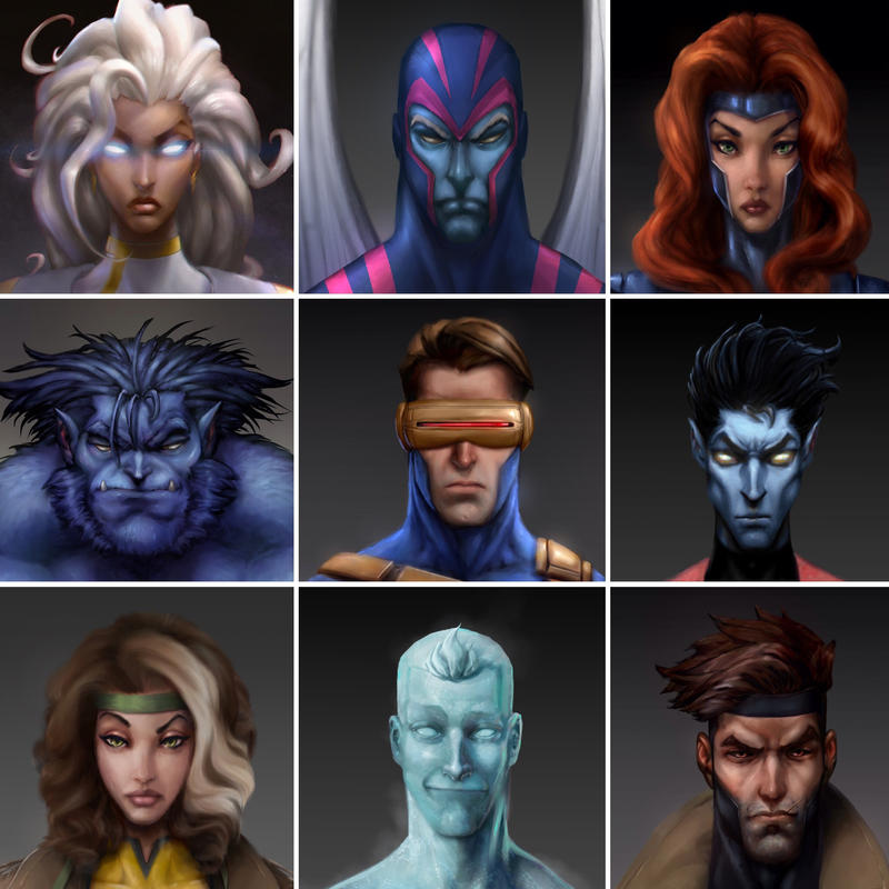 Happy X-Men Day by Chadwick-J-Coleman