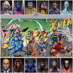 X-Men Series Layout - ChadwickArt