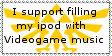 Videogame Music Stamp by RiniUsagiToSLove