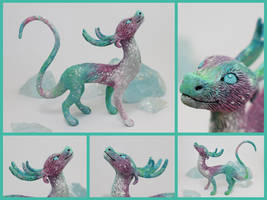 Aurora Borealis Winter Dragon