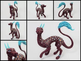 exotic spring dragon by Neronai