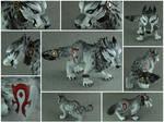 Steampunk Horde Wolf