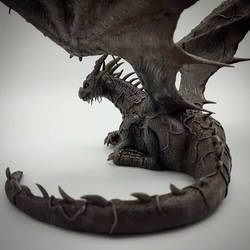 Ancient Dragon from Darksouls