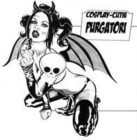 Cosplay-Cutie Purgatori by DarrenTaylor