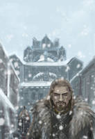 Ulfric Stormcloak sketch by Aihito