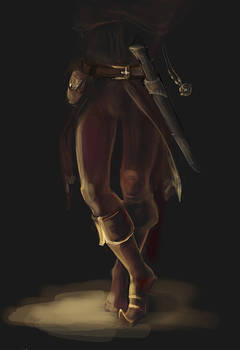 Cicero's legs