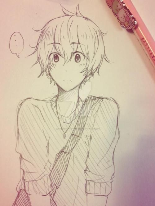 Anime Boy By Nekogamer1205 On DeviantArt