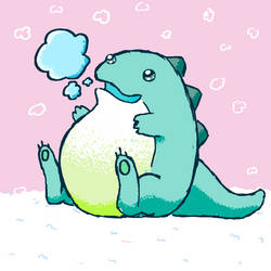 Ice Dragon by SusuGeisha