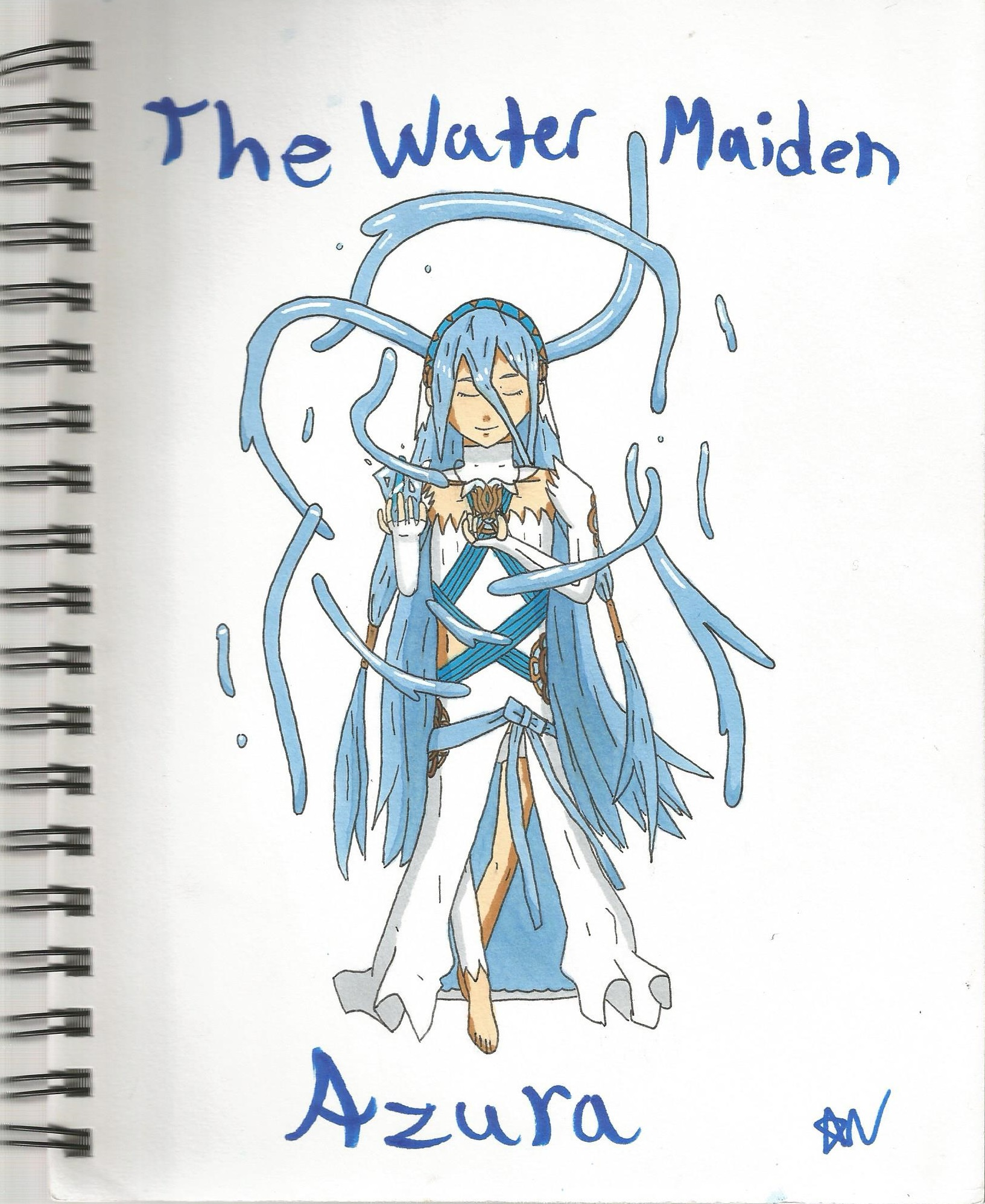 The Water Maiden, Azura by SenpaiTurboblaze
