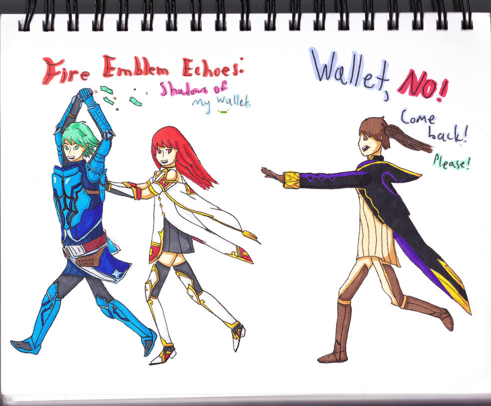 Fire Emblem Echoes: Shadows of My Wallet by SenpaiTurboblaze