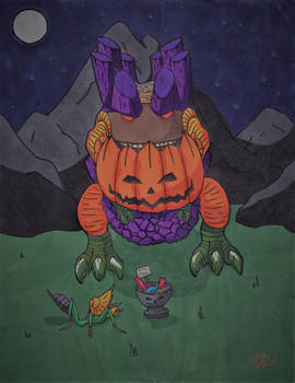 Happy Halloween from the 'Mons of Monster Hunter