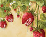 Surreal Strawberries