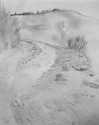 Path in the Cevennes by darkBabette