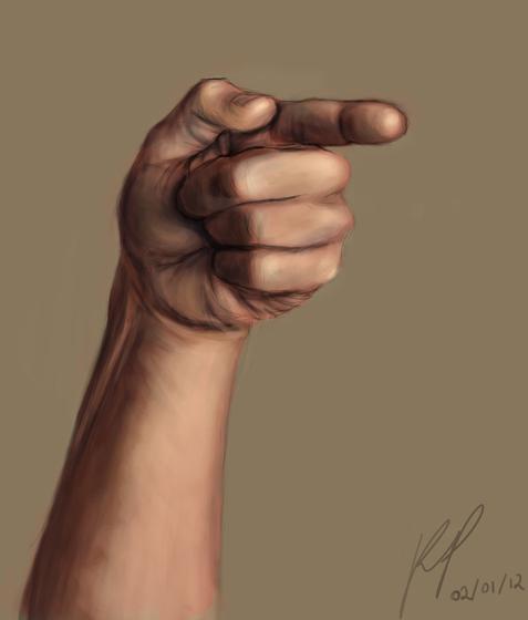 Hand by Binny-Bin