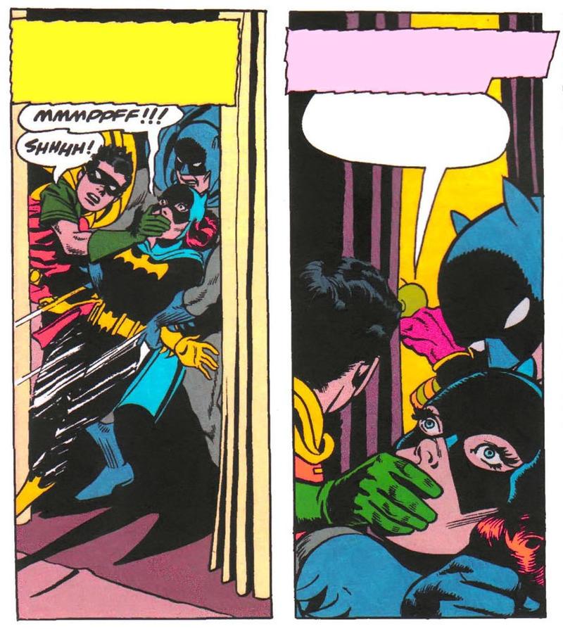 Batgirl Handgagged By HeroineInDistress On DeviantArt