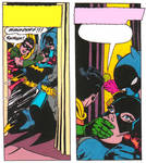 Batgirl handgagged