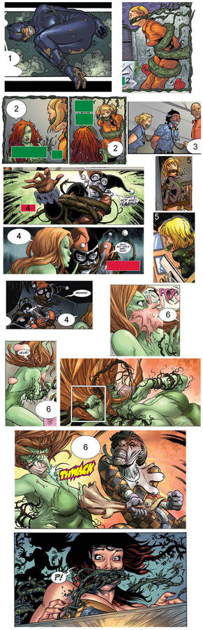 Gagged in Gotham City Sirens (Compilation)