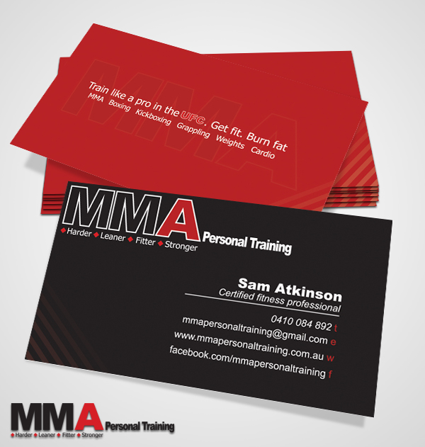 Mma pt business cards by jameslegg on deviantart mma pt business cards by jameslegg reheart Images