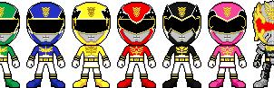 Tensou Sentai Goseiger by Miralupa