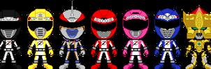 GoGo Sentai Boukenger by Miralupa