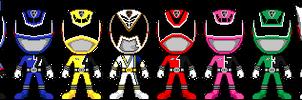 Tokusou Sentai Dekaranger by Miralupa