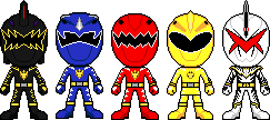 Bakuryuu Sentai Abaranger by Miralupa