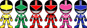 Mirai Sentai Timeranger by Miralupa