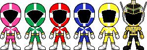 Kyuukyuu Sentai GoGoFive by Miralupa