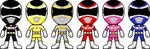 Denji Sentai Megaranger by Miralupa