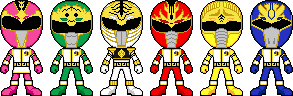 Gosei Sentai Dairanger by Miralupa
