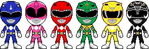 Kyouryuu Sentai Zyuuranger by Miralupa