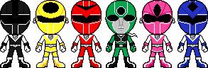 Hikari Sentai Maskman by Miralupa