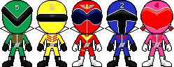 Himitsu Sentai Goranger by Miralupa