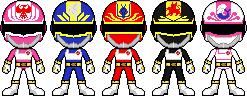 Dengeki Sentai Changeman by Miralupa