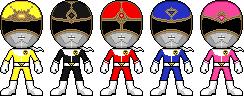 Dai Sentai Goggle-V by Miralupa