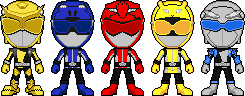 Tokumei Sentai Go-Busters by Miralupa