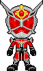Kamen Rider Wizard Flame Dragon by Miralupa