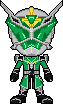 Kamen Rider Wizard Hurricane Dragon by Miralupa