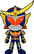 Kamen Rider Gaim Orange by Miralupa