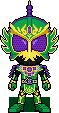 Kamen Rider Ryugen Budou by Miralupa