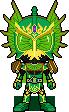 Kamen Rider Ryugen Kiwi by Miralupa