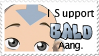 Bald Aang Stamp by jeeshgirl