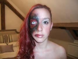 Halloween makeup. by CVKES