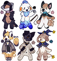 Doggo Batch - Auction Open by SmolMidget
